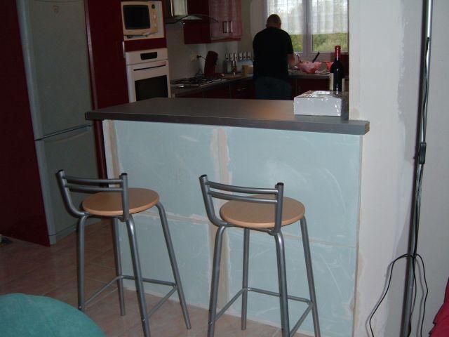 la cuisine la construction de notre maison. Black Bedroom Furniture Sets. Home Design Ideas